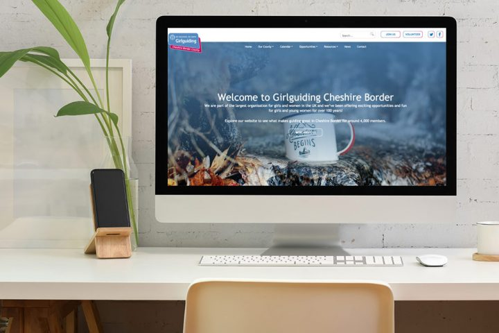 Website Design & Development for Cheshire Charity