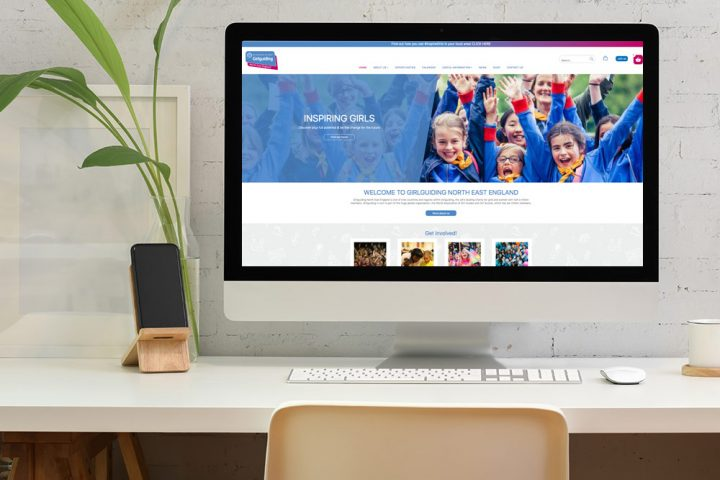 Website Design & Development for North East Region Charity HQ